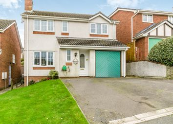 Thumbnail 4 bed detached house for sale in Holtwood Drive, Woodlands, Ivybridge