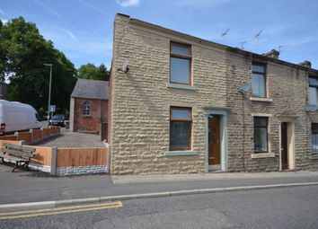 Thumbnail 3 bed end terrace house for sale in Cemetery Road, Whitehall, Darwen, Lancashire