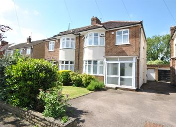 Thumbnail 3 bed semi-detached house for sale in Orchard Way, Goffs Oak, Waltham Cross