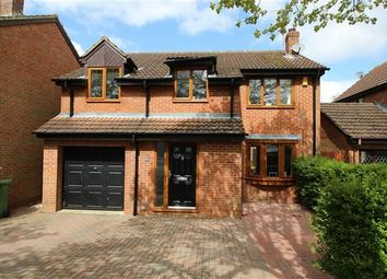 Thumbnail 4 bedroom detached house for sale in Clary Road, Swindon
