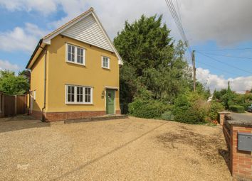 Thumbnail 3 bed detached house for sale in White Horse Road, Kedington, Haverhill