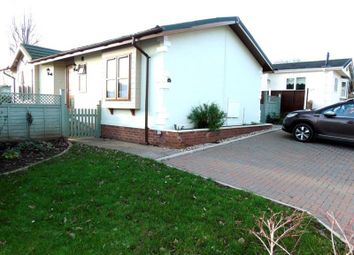 Thumbnail 2 bed mobile/park home for sale in Clanna, Alvington, Lydney