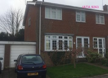 Thumbnail 1 bed semi-detached house to rent in Roseacre Close, Canterbury