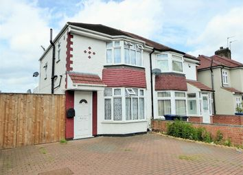 Thumbnail 3 bed semi-detached house for sale in Federal Road, Perivale, Greenford, Greater London