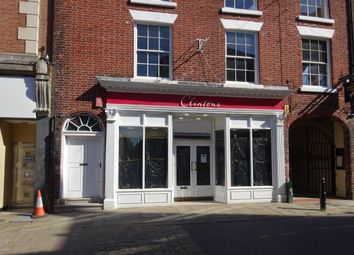 Retail premises to let in High Street, Chesterfield S40