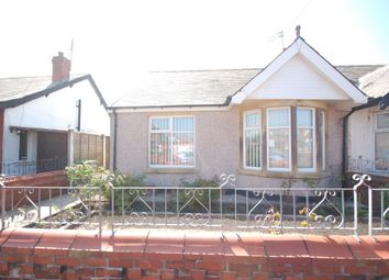 Thumbnail 2 bed semi-detached bungalow to rent in Chislehurst Avenue, Blackpool
