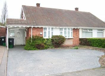 Thumbnail 2 bedroom bungalow to rent in Friesland Drive, Wolverhampton
