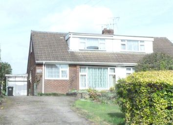Thumbnail 3 bed semi-detached bungalow for sale in Frolesworth Lane, Claybrooke Magna, Lutterworth