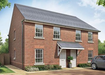"Thumbnail 3 bedroom semi-detached house for sale in ""Finchley"" at Beggars Lane, Leicester Forest East, Leicester"