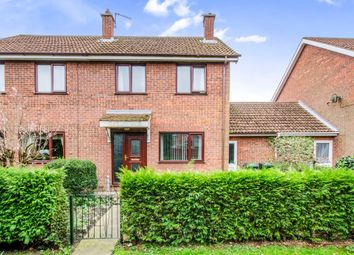 Thumbnail 3 bedroom semi-detached house for sale in Saunters Way, Riccall, York