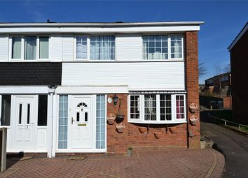 Thumbnail 3 bed end terrace house for sale in Waggon Walk, West Heath, West Midlands