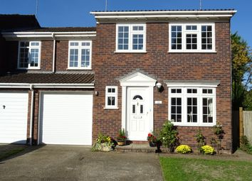 Thumbnail 4 bed semi-detached house for sale in Parklands, West Byfleet