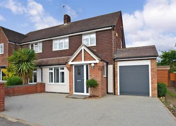 Thumbnail 3 bed semi-detached house for sale in The Oaks, Aylesford, Kent