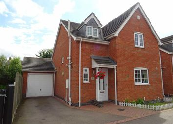 Thumbnail 3 bedroom detached house for sale in Leicester Road, Sapcote, Leicester