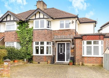 Thumbnail 4 bed semi-detached house for sale in Hamilton Avenue, Tolworth, Surbiton