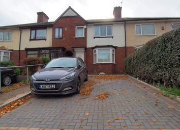 Thumbnail 3 bed terraced house for sale in Farcroft Road, Handsworth, Birmingham