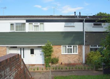 Thumbnail 3 bed terraced house for sale in Fladbury Close, Redditch, Worcestershire