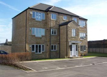 Thumbnail 2 bed flat for sale in Huddleston Court, Mirfield