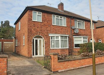 Thumbnail 3 bed semi-detached house for sale in Northdene Road, Knighton, Leicester