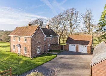 Thumbnail 4 bed detached house for sale in Shobley, Ringwood
