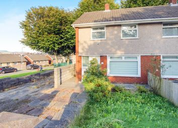 Thumbnail 2 bed semi-detached house for sale in Wern Bank, Neath