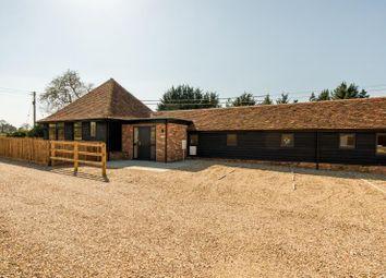 Thumbnail 2 bed barn conversion to rent in Hanover Cottage, Hanover Farm, Addington, Buckinghamshire