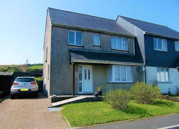 Thumbnail 3 bed semi-detached house for sale in Woodville Avenue, Princetown, Yelverton