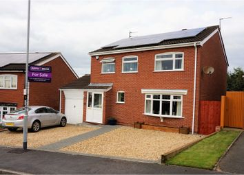 Thumbnail 4 bed detached house for sale in Tennyson Way, Melton Mowbray