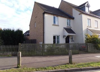 Thumbnail 3 bed end terrace house for sale in Wadsworth Court, Bedford, Bedfordshire