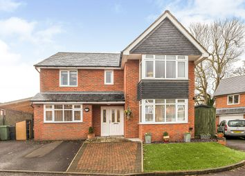 Thumbnail 4 bed detached house for sale in Bryn Y Castell Gardens, St. Martins Road, Gobowen, Oswestry