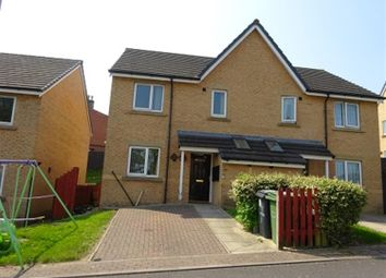 Thumbnail 3 bed semi-detached house for sale in Alpine Close, Dewsbury
