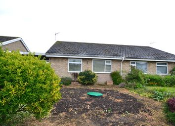 Thumbnail 2 bedroom semi-detached bungalow to rent in Meadowcroft, Stretham, Ely