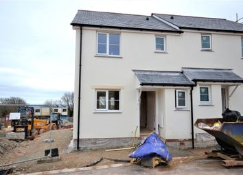 Thumbnail 2 bedroom semi-detached house for sale in Plot 23, St Anns Chapel, Gunnislake, Cornwall