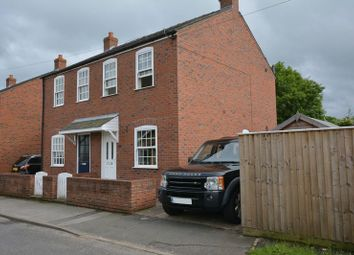 Thumbnail 2 bed semi-detached house to rent in Sykes Lane, Saxilby, Lincoln