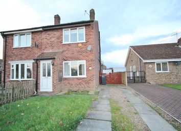 Thumbnail 2 bed semi-detached house to rent in St. Marys Avenue, Hemingbrough, Selby