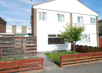 Thumbnail 3 bed semi-detached house to rent in Hathersage Gardens, South Shields
