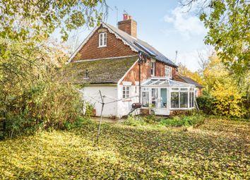 Thumbnail 3 bed detached house for sale in Leneys Cottages, Off Addington Lane, Trottiscliffe, West Malling, Kent