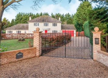 Thumbnail 4 bed detached house for sale in Badwell Ash, Bury St. Edmunds, Suffolk
