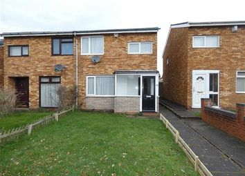 Thumbnail 3 bed semi-detached house to rent in Marlene Croft, Chelmsley Wood, Solihull