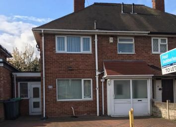 Thumbnail 3 bed property to rent in Hawthorn Road, Wednesbury
