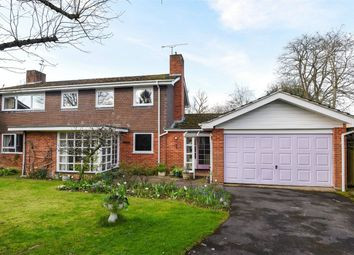 Thumbnail 4 bed detached house for sale in Cranford Drive, Hurst, Berkshire