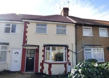 Thumbnail 2 bed terraced house for sale in Leighton Road, Enfield