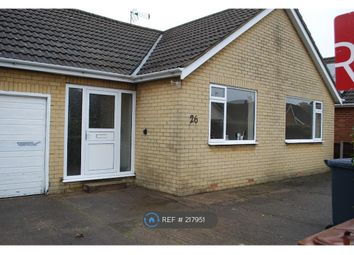 Thumbnail 3 bed bungalow to rent in Meadowlake Crescent, Lincoln