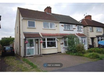 Thumbnail 4 bed semi-detached house to rent in Fareham Avenue, Rugby