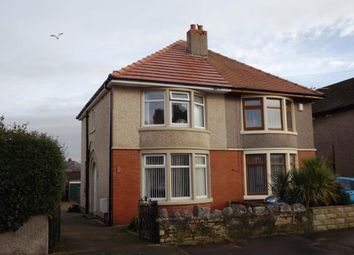 Thumbnail 3 bed semi-detached house for sale in Ellesmere Road, Morecambe, Lancashire, United Kingdom