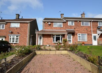 Thumbnail 2 bed end terrace house for sale in Featherstone Drive, Leicester
