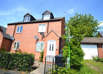 Thumbnail 3 bed flat for sale in John Street, Newhall, Swadlincote, Derbyshire