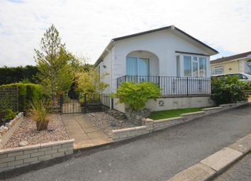 Thumbnail 2 bed mobile/park home for sale in Marlais Park, Carmel, Llanelli