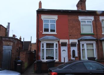 Thumbnail 2 bedroom terraced house to rent in Cranmer Street, Leicester
