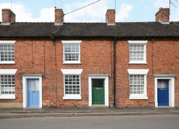 Thumbnail 2 bed terraced house for sale in 20 Stone Road, Eccleshall, Staffordshire.